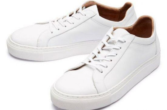 selected-femme-leren-sneakers-wit
